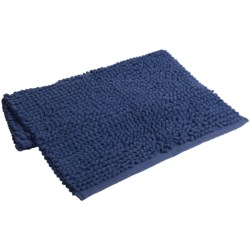 "Espalma Popcorn Loop Bathroom Rug - Cotton, 21x34"" in Blueberry"