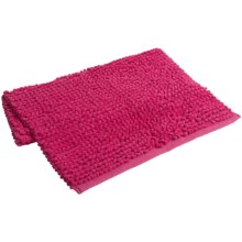 "Espalma Popcorn Loop Bathroom Rug - Cotton, 21x34"" in Hot Pink - Closeouts"