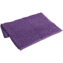 "Espalma Popcorn Loop Bathroom Rug - Cotton, 21x34"" in Purple - Closeouts"