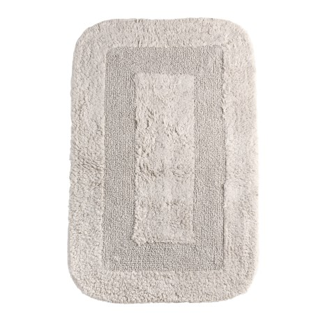 Espalma Reversible Cotton Bath Rug - 21x34""