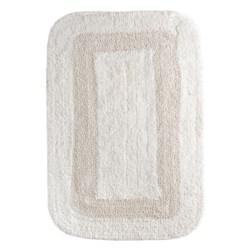 "Espalma Reversible Cotton Bath Rug - 21x34"" in Oyster"