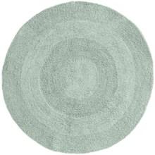 Espalma Reversible Round Bath Rug - Cotton in Pacific - Closeouts