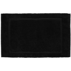 Espalma Signature Bath Rug - Cotton in Black