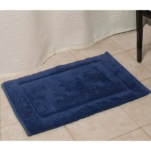 Espalma Signature Reversible Bath Rug - Medium in Navy - Overstock