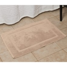 Espalma Signature Reversible Bath Rug - Medium in Peach - Overstock