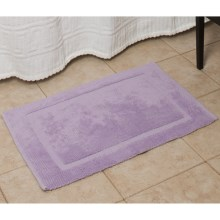 Espalma Signature Reversible Bath Rug - Medium in Wisteria - Overstock