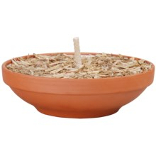 "Esschert Design 8"" Terracotta Fire Bowl in Terra Cotta - Closeouts"