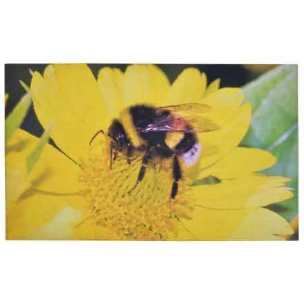"""Esschert Design Bumble Bee Recycled Rubber Doormat - 18x30"""" in See Photo - Closeouts"""