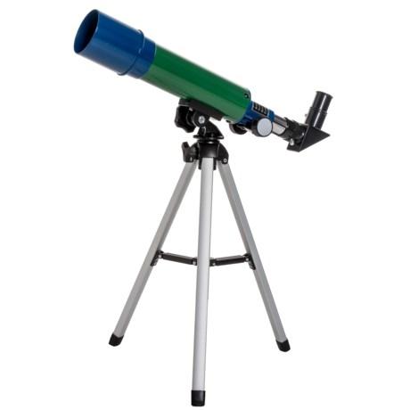 Esschert Design Children's Telescope in Green/Blue