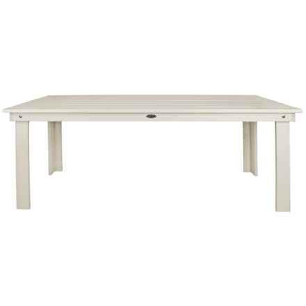 Esschert Design Rectangular Table in White - Closeouts