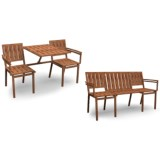 Esschert Design Seattle Bench