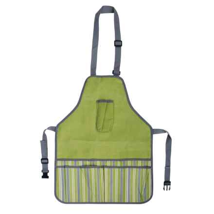 Esschert Design Striped Garden Apron (For Kids) in Green - Closeouts