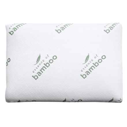 Essence of Bamboo Memory-Foam Classic Pillow in White - Closeouts