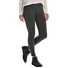 Essential Cotton Leggings (For Women) in Charcoal - 2nds