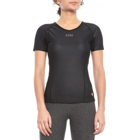 Essential Windstopper(R) Base Layer Top – Short Sleeve (For Women)