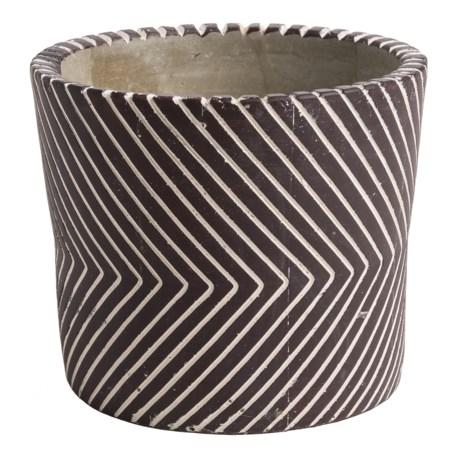 Essenza Line Pattern Citronella Candle in Amber