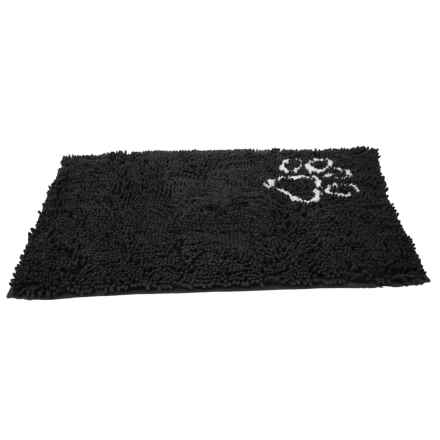 """Ethical Pet Clean Paws Grey Grooming Mat - 35x24"""" in Grey - Closeouts"""
