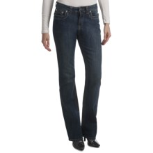 Ethyl Back Pocket Bling Jeans - Bootcut (For Women) in Vintage Wash - Closeouts