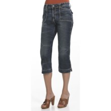 Ethyl Classic Capris (For Women) in Crackle Stone Wash - Closeouts