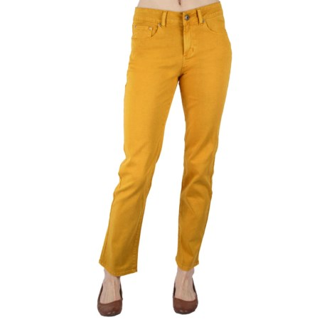 Ethyl Colored Jeans - Straight Leg (For Women) in Blue