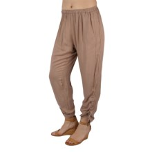Ethyl Cotton Sheeting Pants (For Women) in Cocoa - Closeouts