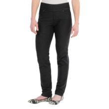 Ethyl Pull-On Denim-Knit Pants - Skinny Leg (For Women) in Black - Closeouts