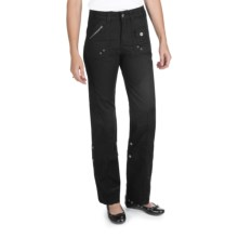 Ethyl Ripstop Roll-Up Cargo Pants (For Women) in Black - Closeouts