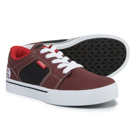 Etnies Barge Sneakers - Lace-Ups (For Boys) in Red/Navy
