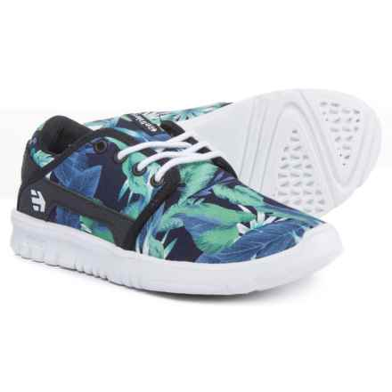 Etnies Scout Shoes (For Boys) in Black/Aloha - Closeouts