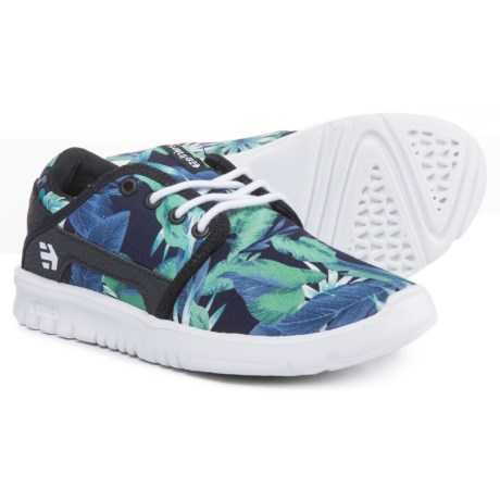 Etnies Scout Shoes (For Boys) in Black/Aloha