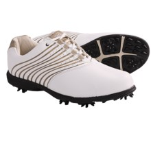 Etonic Lite Tech II Golf Shoes (For Women) in White/Gold - Closeouts