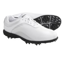 Etonic Sof-Tech Golf Shoes - Waterproof (For Women) in White/Silver - Closeouts