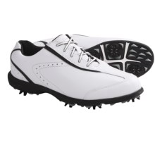 Etonic Sport Tech Casual Golf Shoes - Waterproof (For Women) in White/Black - Closeouts