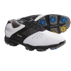 Etonic Stabilizer II Golf Shoes - Waterproof (For Men) in White/Black
