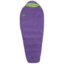 Eureka 30°F Bero Sleeping Bag - Mummy (For Women) in Purple/Lime - Closeouts