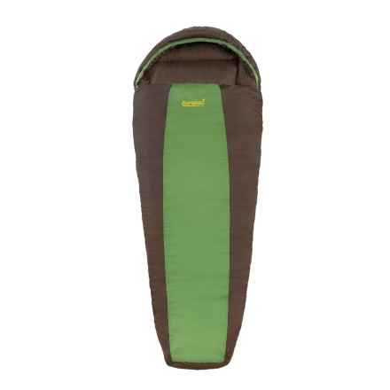 Eureka 30°F Grasshopper Sleeping Bag - Mummy (For Boys) in Green/Brown - Closeouts