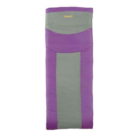 Eureka 45°F Lightning Bug Sleeping Bag - Rectangular (For Girls) in Purple - Closeouts