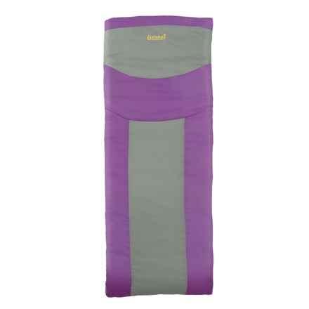 Eureka 45°F Lightning Bug Sleeping Bag - Rectangular (For Girls) in Purple - Closeouts