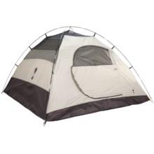 Eureka Tetragon HD 4 Tent - 4-Person, 3-Season in Cement/Dark Shadow - Closeouts