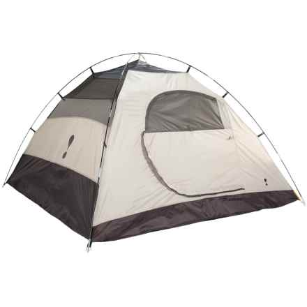 Eureka Tetragon HD 4 Tent - 4-Person, 3-Season in Cement/Dark Shadow - Closeouts