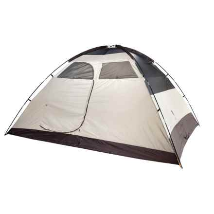 Eureka Tetragon HD 8 Tent - 8-Person, 3-Season in Cement/Dark Shadow - Closeouts