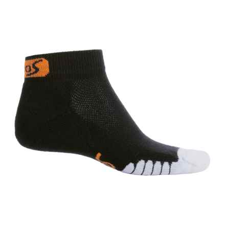 Eurosock 5K Supreme Ped Socks - Ankle (For Men and Women) in Black - Closeouts