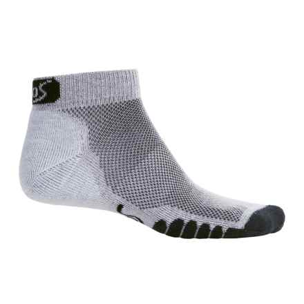 Eurosock 5K Supreme Ped Socks - Ankle (For Men and Women) in Gray - Closeouts
