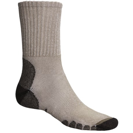 Eurosock All-Around Hiker Socks - CoolMax®, Crew (For Men and Women) in Green
