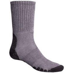 Eurosock All-Around Hiker Socks - CoolMax®, Crew (For Men and Women) in Grey
