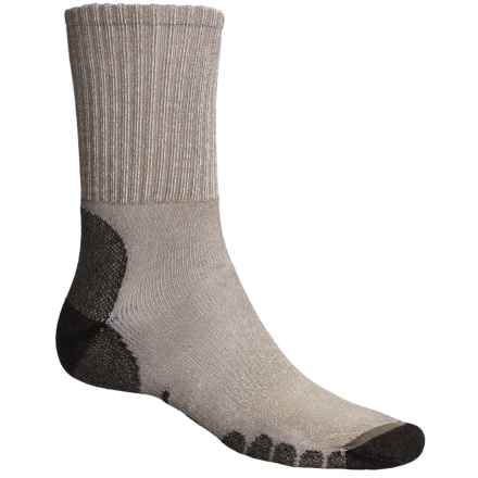 Eurosock All-Around Hiking Socks - CoolMax®, Crew (For Men and Women) in Green - Closeouts