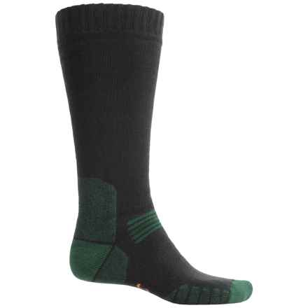 Eurosock Ascent Socks - Merino Wool, Over the Calf (For Men and Women) in Black - Closeouts