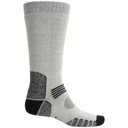Eurosock Ascent Socks - Merino Wool, Over the Calf (For Men and Women) in Grey - Closeouts