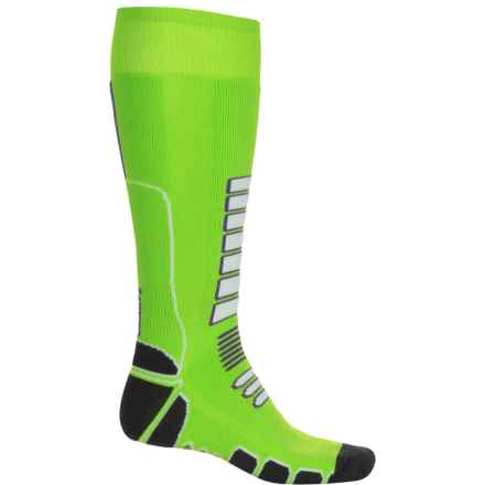 Eurosock Board Shredder Snowboard Socks - Over the Calf (For Men and Women) in Lime - Closeouts