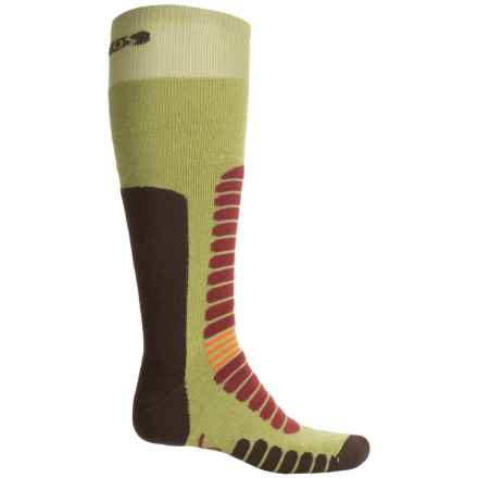 Eurosock Board Zone Snowboard Socks - Over the Calf (For Men and Women) in Acid - Closeouts